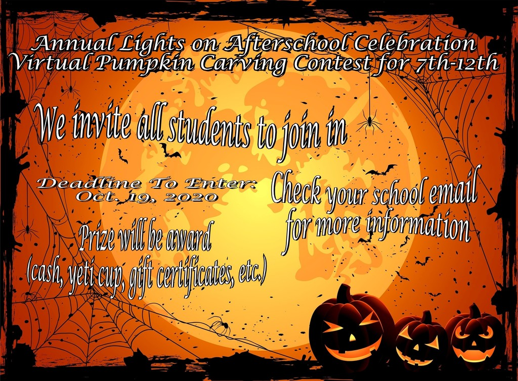 21st CCLC Pumpkin Carving
