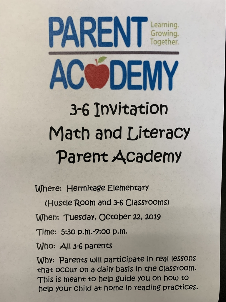 3-6 Parent Academy Invite