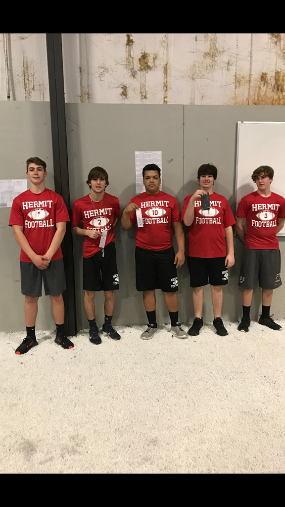 Hermits at Powerlifting competition